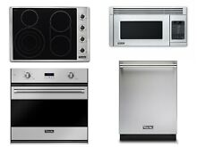 Viking Kitchen Appliance Package Cooktop Single Oven Dishwasher