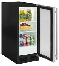 Marvel ML15RAL 15 W 2 7 Cu  Ft  72 Can Built In Beverage Center   Stainless