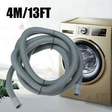 4M Universal All Washing Machine Discharge Drain Waste Hose Extension Pipe Kits