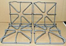 Genuine OEM GE Gas Range WB31K10035 Set of 4 Burner Grates  B121