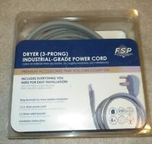 FSP 3 Prong 6  Dryer Cord