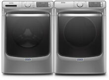 Maytag Side by Side Washer   Dryer Set Front Load Washer   Electric Dryer Slate