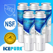 5 Pack Replacement For WRX735SDHZ01 WRX735SDHZ02 Water Filter  Icepure