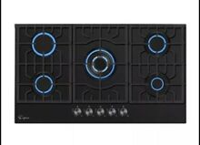 Empava Black Gas Cooktop 5 Burner
