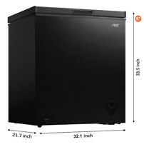 Arctic King 7 cu ft  Chest Freezer Black Brand New With Box
