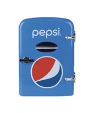 Pepsi 6 Can Mini  Fridge  120 Or 12 Volt  Holds 6 12oz Cans NEW FAST SHIP