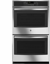 GE Profile 30  Stainless Steel Electric Convection Double Wall Oven JT5500SFSS