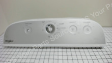 Whirlpool WED5000DW Dryer control console W10672827 Used