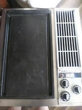 Jenn Air Electric Downdraft Griddle 18  Cooktop Stainless Steel model C101