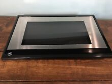 GE Wall Oven Microwave Combo Door Stainless OEM Part   WB55T10143