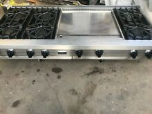 Viking 60   Range top  6  extended griddle   nat gas   in los angeles