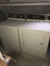 1979 Maytag Washer Dryer Set    LP Gas  PROPANE  LOCAL PICK UP ONLY EAST HAMPTON