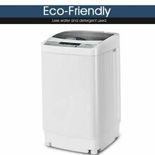 Automatic Washing Machine Compact 8 Water Level Portable Apartment Dorm Room
