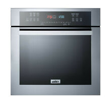 Summit SEW24SS 24 W 2 7 Cu  Ft  Single Electric Oven   Stainless Steel