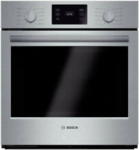 Bosch HBN5451UC 500 Series 27  Single Electric Wall Convection Oven Stainless