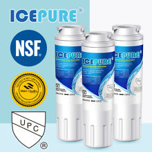 Fit For 4396395 Kenmore 46 9005 9005 9005P 46 9006 46 9992 Water Filter 3 Pack