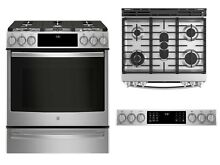 GE Profile PGS930SELSS 30  Smart Slide In Gas Range WiFi Connect True Convection