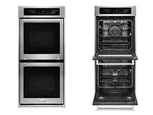KitchenAid KODC304ESS 24  Double Wall Oven with EasyConvect  True Convection