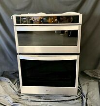 Whirlpool WOC54EC0HS 30  Smart Combination Microwave Convection Wall Oven