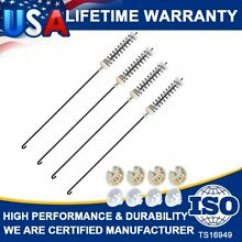 4 W10780045 W10821956 Washer Suspension Rod Kit Set For Whirlpool Kenmore Maytag