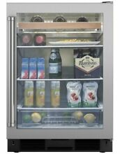 Sub Zero 24  Stainless Steel Undercounter Beverage Center UC 24BG S PH RH