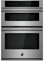 JennAir Rise JMW2430IL 30  Double Combination Electric Wall Oven Microwave SS