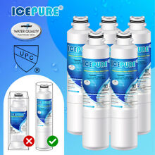 Fit For Samsung RS261MDBP RS261MDBP XAA RF263BEAESR Fridge Water Filter 5 Pack