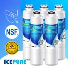 Fit For Samsung RS265TDWP RS25J500DSR AA RS25J500DWW AA Water Filter 5 Pack