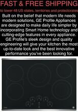FREE SHIPPING New GE Profile 30  3100 Watt PowerBoil Stainless Electric Cooktop