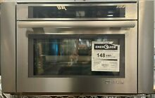 JennAir JBS7524BS Euro Style 24  Single Steam Convection Electric Wall Oven
