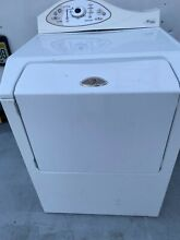 Maytag MDE5500AYW  White Front Load Electric Dryer