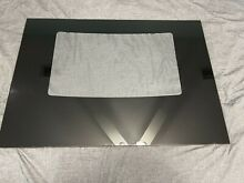 Kenmore Range Oven Outer Door Glass Black OEM Part   316427001