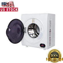 Compact Dryer Clothes Portable Electric Small Front Loading Laundry Machine 110V