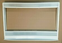 Genuine OEM GE Oven Microwave Combo MICROWAVE TRIM Part   WB07T10608 WHITE