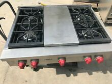 36  Wolf Stainless Rangetop  Propane or gas  4  grill in los angeles