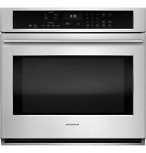 Monogram 30  Stainless Steel Electric Convection Single Wall Oven   ZET9050SHSS