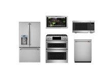 GE Cafe Stainless Smart Kitchen Package