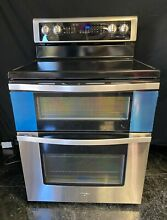 Whirlpool WGE745C0FS 6 7 CuFt Electric Double Oven Electric Range True Convect S