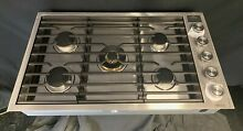 Dacor Contemporary DTG36M955FS 36  Smart Gas Cooktop 5 Sealed Burners Stainless