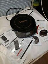 Nuwave Precision Induction Cooktop Platinum 30401 AR Books and Remote
