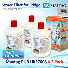 3 SET   UKF7003 MAYTAG FRIDGE FILTER SUIT FOR GS2325 GS2327 GS2727 AND MORE