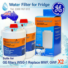 2 X GE  MWF  FILTER  REPLACEMENT   FILTER   BY WATER SENTINEL   MADE IN USA