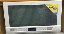Sharp R1201W White Carousel Over the Counter Microwave