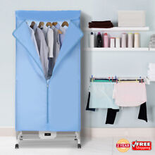 Electric Clothes Dryer Wardrobe Drying Machine Clothes Heater Remote Control USA