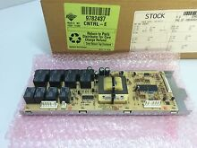 9782437   WP9782437  WHIRLPOOL RANGE RELAY CONTROL BOARD   NEW PART