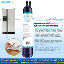 Whirlpool Genuine 4396841 PUR Internal Fridge Ice   Water Filter