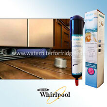 6 x Whirlpool Genuine 4396841 Internal Fridge Ice   Water Filter