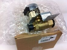 WB19K10059  GE OVEN LOCKOUT VALVE   NEW PART
