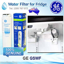 GE GSWF 100  GENUINE FRIDGE WATER FILTER CARTRIDGE FREE POST AUSTRALIA STOCK