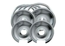 Kitchen Stove  Trim Ring Contain Hinged Drip Pan Burner Replace Cooking Home Set
